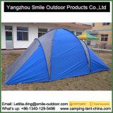 6 Personen QC-Inspektion-im Freien kampierendes 2 Raum-Familien-Zelt