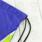 Sac de cordon adapté aux besoins du client du polyester 210d avec la notation M.Y.D-005