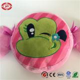Het Geborduurde Patroon Mika Pink Kids Pillow van de Vorm van de Snoepjes van het suikergoed Kikker