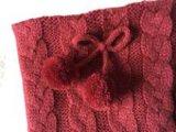 2개의 색깔에 의하여 뜨개질을 하는 실내 단화 (RY-SL1670)