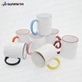 Sunmeta Sublimation Blank Ceramic Mugs para Customized Design
