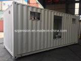Sitio del envase modificado moderno modular más nuevo casa prefabricados/prefabricados de la sol/