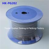 Imballaggio Braided della fibra resistente alla corrosione della grafite PTFE con l'olio