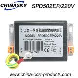 Dispositif de protection contre la foudre de bloc d'alimentation de l'Internet 220V de télévision en circuit fermé (SPD502EP/220V)
