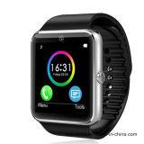 2016 Bluetooth Slim Horloge Oksmart Gt08 met Kaart SIM Ingebouwd voor de Verre Camera van de Sport van de Vrouw van Mannen
