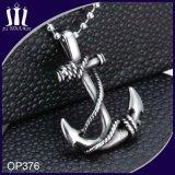 Anker-Anhänger mit Kugel-Ketten-Halskette