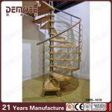 カスタム木の螺線形階段(DMS-1045)