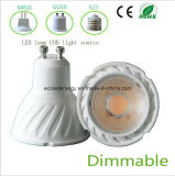 Qiality alta regulable 5W GU10 Luz LED COB