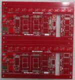 0,6 mm de doble cara Tarjeta de circuitos roja