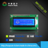 """2.0 """"青い背景が付いている32X122図形LCDのモジュール"""