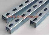 Rodillo ranurado acero pre galvanizado Unistrut del canal del puntal de C que forma la máquina Vietnam
