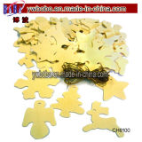 Ornamento plástico del claro de la decoración de la chuchería del rectángulo del caramelo de Fillable del árbol de Navidad de la Navidad (CH8101)