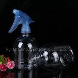 파란 트리거 스프레이어 애완 동물 3를 가진 대용량 500ml 플라스틱 병
