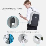 Универсальный Backpack/компьтер-книжки дела воды упорный Backpack 17.3 дюймов профессиональный водостойкmNs с загрузочным люком USB для компьтер-книжки