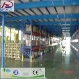Estante de varias filas de alta densidad del acero del almacén
