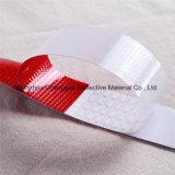 Cinta reflexiva X de 2 pulgadas de la marca del carro 150 pies de rojo/blanco del rodillo