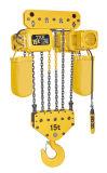 Fabricante Kito-Er2 del alzamiento de Txk velocidad eléctrica del alzamiento de cadena de 15 toneladas sola