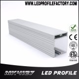 Protuberancia de aluminio del perfil de Pn4127 LED para montado en la pared con Ce