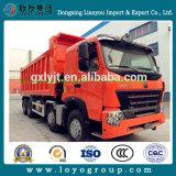 판매를 위한 Sinotruk 420HP 8X4 팁 주는 사람 덤프 트럭