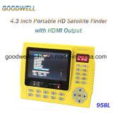 """medidor satélite do inventor de 4.3 """" Digitas"""