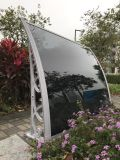 Toldo de alumínio de Makrolon do frame para cortinas de indicador