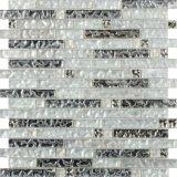 Mosaico di vetro Mixed del marmo poco costoso di prezzi di alta qualità