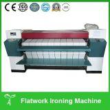Plancha automática de Flatwork de los Bedsheets Heated del gas