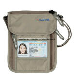 Бумажник Stash шеи RFID Anti-Theft спрятанный для путешествия