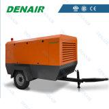 Compresores de aire a diesel del tornillo de China Mobile en Dubai, UAE