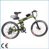 トルクセンサーMTB折る山の電気バイク(OKM-1179)