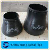 이음새가 없는 탄소 강철 ASTM A234 Wpb 관 이음쇠 팔꿈치, 티, 흡진기 및 모자