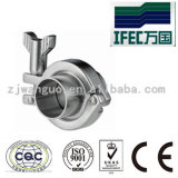 Unión sanitaria de la abrazadera 304/316L (IFEC-CU100001)