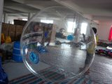 Colorido bola que camina 1,0 mm de PVC / TPU de agua inflable, bola inflable del zorb para los niños jugando