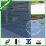 Strato di plastica della cavità della Triplice-Parete del policarbonato del materiale da costruzione dello strato del tetto