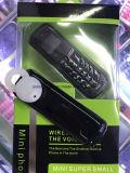 Telefono della cuffia avricolare senza fili di Bluetooth del telefono mobile mini