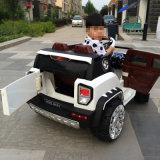 Le jouet à piles de porte d'ouverture 3 badine le véhicule électrique de SUV