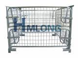 Zusammenklappbarer Falz-Stahlmaschendraht-Ladeplatten-Rahmen