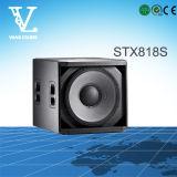 Stx800シリーズStx825二重15inchプロ可聴周波スピーカーPAシステム
