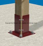 Base del poste de la reparación de la cerca