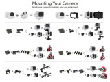 4k処置のカメラ2.0のインチLCDスクリーン170度の処置カム