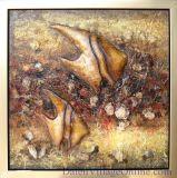 Dekoratives Fisch-Ölgemälde (ADB0128)