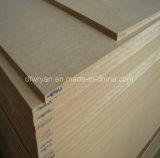 高品質家具のための明白なMDF/Melamine MDF/装飾的なMDF