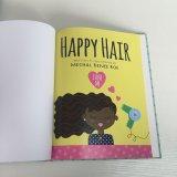 Tapa dura libro de niños, impresión de colores, costura de unión