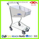 Carro do trole da compra da liga de alumínio para a loja isenta de direitos aduaneiros do aeroporto (CA-80)