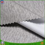Textile de 2017 maisons enduisant le tissu de rideau tissé par polyester ignifuge imperméable à l'eau en arrêt total