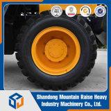 Mini equipamento de construção carregador da roda de 2.2 toneladas com forquilha do registro