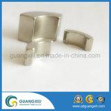 Gesinterd om /Ring met het Gouden Plateren van de Magneet NdFeB