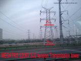 Torretta della trasmissione di tensionamento di Megatro 220kv Sj2