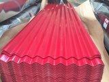 0.3mm Farbe überzogenes gewölbtes Galvanzied Stahlblech für Dach