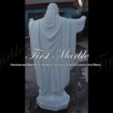 Hand-Geschnitzte Metrix Carrara Skulptur für Baumaterial Ms-1018
